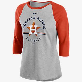 Nike Encircled (MLB Houston Astros) Women's 3/4-Sleeve T-Shirt