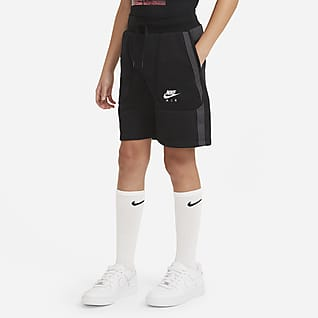 Nike Air Shorts i fransk french terry för ungdom (killar)