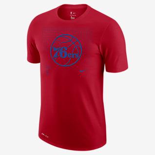 Philadelphia 76ers Logo Grid Men's Nike Dri-FIT NBA T-Shirt
