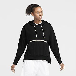 Nike Swoosh Fly Standard Issue Basketbalhoodie voor dames