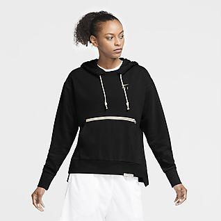Nike Swoosh Fly Standard Issue Basketball-Hoodie für Damen