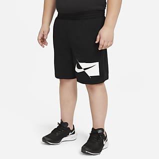 Nike Dri-FIT Tréninkové kraťasy pro větší děti (chlapce) (rozšířená velikost)