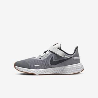 Nike Revolution 5 FlyEase Older Kids' Running Shoes (Wide)