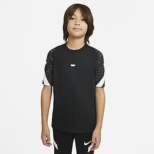 Nike Dri-FIT Strike Camiseta de fútbol de manga corta para niños talla grande