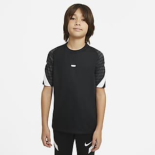 Nike Dri-FIT Strike Older Kids' Short-Sleeve Football Top