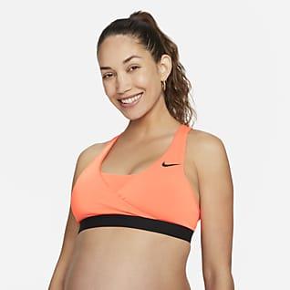 Nike (M) Swoosh Damski ciążowy stanik sportowy z wkładkami zapewniający średnie wsparcie