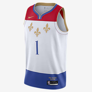 New Orleans Pelicans City Edition Nike NBA Swingman Trikot