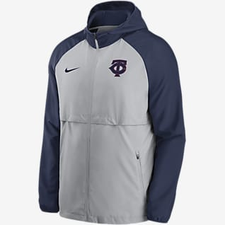 Nike Logo Essential (MLB Minnesota Twins) Men's Hooded Jacket