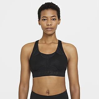 Nike Swoosh UltraBreathe Bra deportivo con almohadilla de sujeción media para mujer