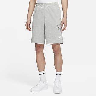 Nike Sportswear Club 男款法國毛圈布工作短褲