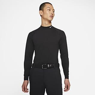 Nike Dri-FIT UV Vapor 男子长袖高尔夫上衣