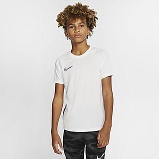 Nike Dri-FIT Academy Κοντομάνικη ποδοσφαιρική μπλούζα για μεγάλα παιδιά