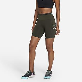 Nike Epic Luxe Terränglöparshorts för kvinnor