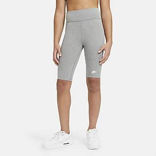 Nike Sportswear Shorts de ciclismo para niña talla grande