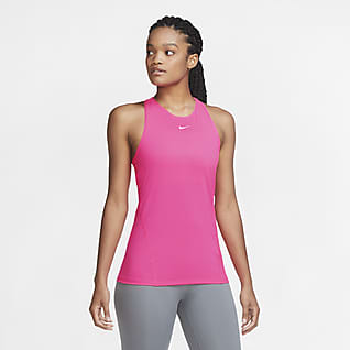 Nike Pro Canotta in mesh - Donna