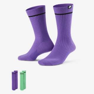 Nike SNEAKR Sox Unisex Crew Socken (2 Paar)