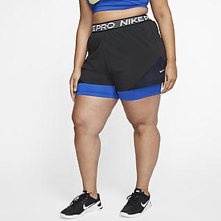 2 in 1 nike shorts womens