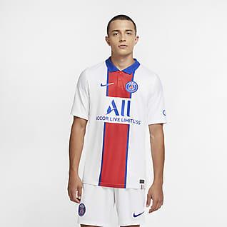 Paris Saint-Germain 2020/21 Stadium (bortaställ) Fotbollströja för män