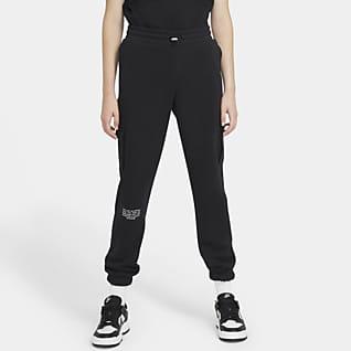Nike Sportswear Swoosh Dámské kalhoty z francouzského froté