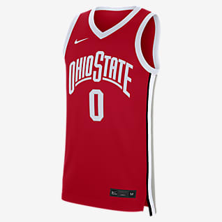 Nike College Replica (Ohio State) Men's Basketball Jersey