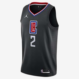 Kawhi Leonard Clippers Statement Edition 2020 Maillot Jordan NBA Swingman