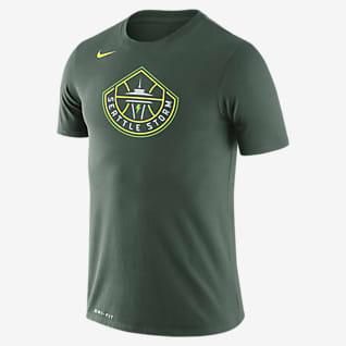 Seattle Storm Logo เสื้อยืด Nike Dri-FIT WNBA