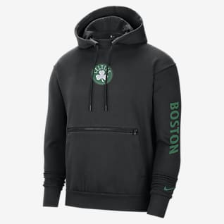 Boston Celtics Courtside Sudadera con capucha sin cierre Nike NBA para hombre