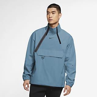 Nike Sportswear Tech Pack Vævet jakke med lynlås i halv længde til mænd