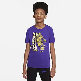 LeBron James Select Series Nike NBA-T-shirt til større børn