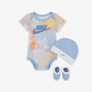 Nike Conjunto de 3 piezas Tie-Dye para bebé