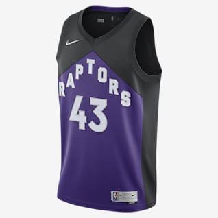 Toronto Raptors Earned Edition Men's Nike NBA Swingman Jersey