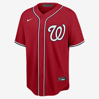 MLB Washington Nationals (Stephen Strasburg) Men's Replica Baseball Jersey