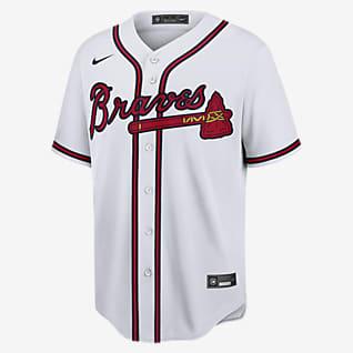 MLB Atlanta Braves (Ozzie Albies) Men's Replica Baseball Jersey
