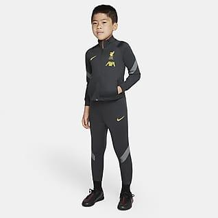 Liverpool FC Strike Nike Dri-FIT Fußball-Trainingsanzug für jüngere Kinder