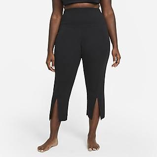 Nike Yoga Women's Ribbed 7/8 Pants (Plus Size)