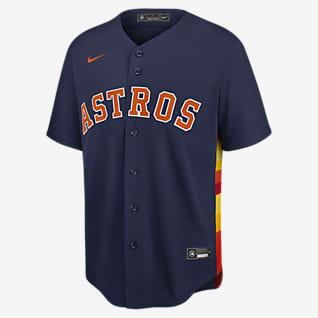 MLB Houston Astros (Alex Bregman) Men's Replica Baseball Jersey