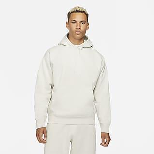 NikeLab Hoodie de lã cardada para homem