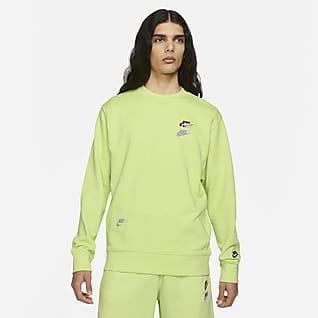Nike Sportswear Essentials+ Fransız Havlu Kumaşı Erkek Crew Üst