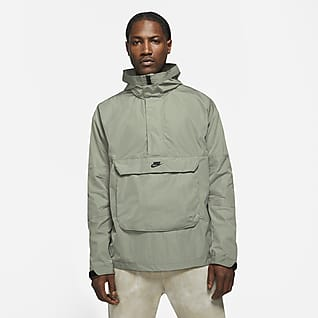 Nike Sportswear Premium Essentials Мужской анорак с капюшоном без подкладки