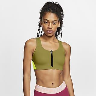 Nike Dri-FIT Shape Women's High-Support Padded Front-Zip Sports Bra