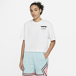 Jordan Essential Damski T-shirt z nadrukiem