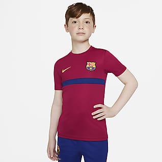 FC Barcelona Academy Pro Maglia da calcio a manica corta Nike Dri-FIT - Ragazzi