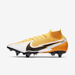Nike Mercurial Superfly 7 Elite SG-PRO Anti-clog Traction Fodboldstøvle til vådt græs