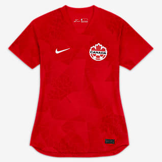 Canada 2020 Stadium Home Women's Football Shirt
