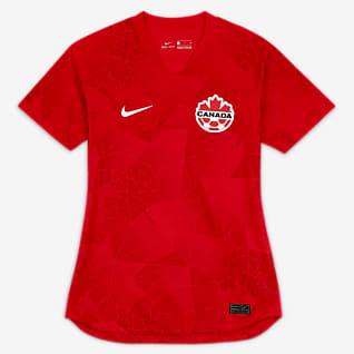 Canada 2020 Stadium Home Women's Soccer Jersey