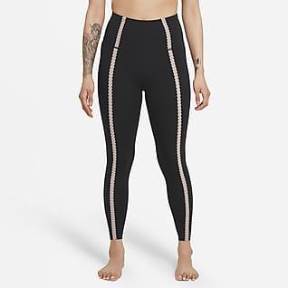 Nike Yoga Luxe Women's High-Waisted 7/8 Eyelet Leggings