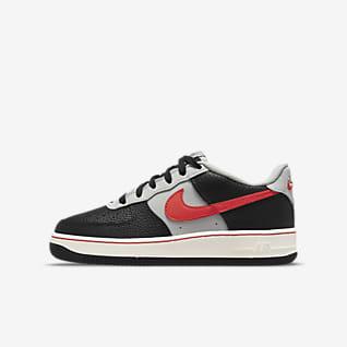 Nike Air Force 1 EMB Big Kids' Shoes