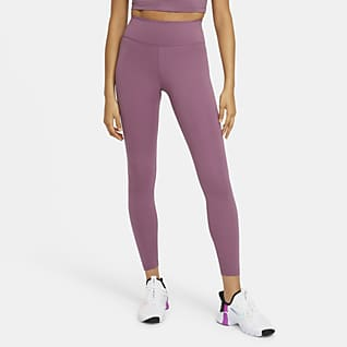 Nike Dri-FIT One Leggings med mellomhøyt liv til dame