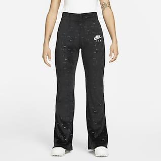 Nike Air Velourbukser med mellemhøj talje til kvinder