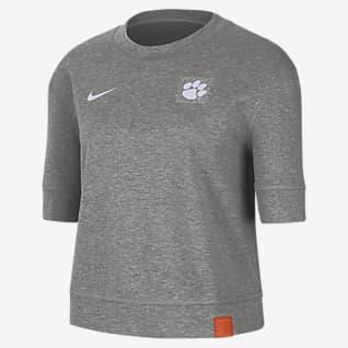 Nike College (Clemson) Women's Crop Top